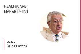 Profesor en salud PedroGarcía Barreno