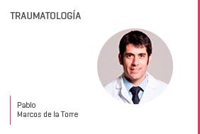 Profesor en salud Pablo Marcosde la Torre