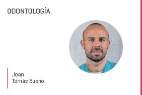 Profesor en salud Joan TomásBueno