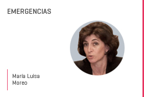 Profesor en salud María LuisaMoreo