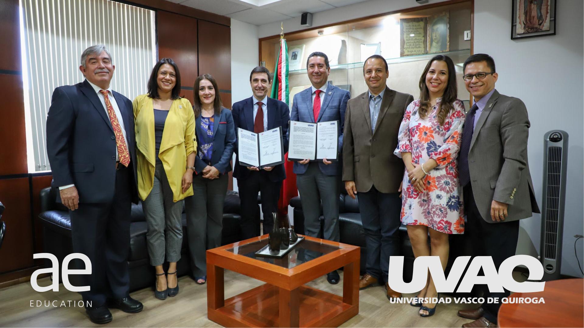 Fotografía que ilustra la noticia de salud de Alebat Education sobre Alebat Education y la UVAQ firman un acuerdo de colaboración que impulsará el desarrollo de especialidades médicas para los alumnos en España