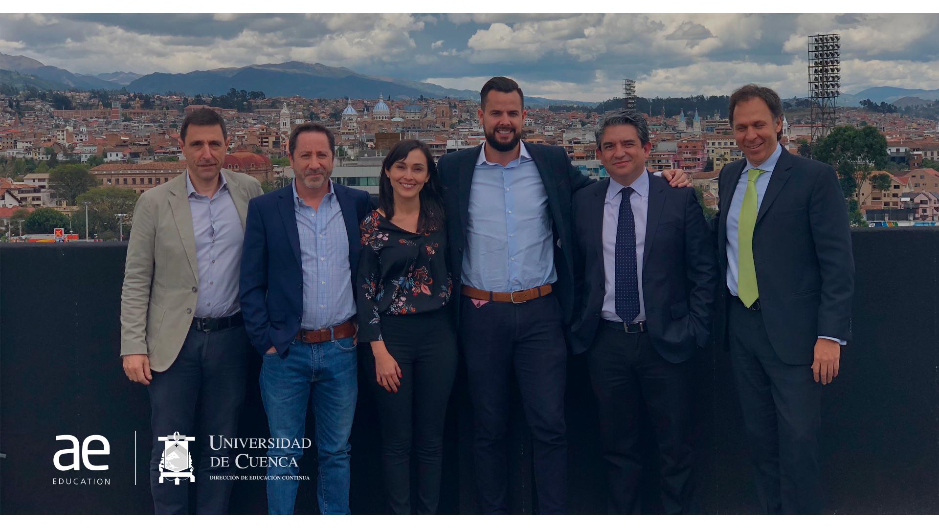 Fotografía que ilustra la noticia de salud de Alebat Education sobre Éxito de los cursos presenciales en la Universidad de Cuenca