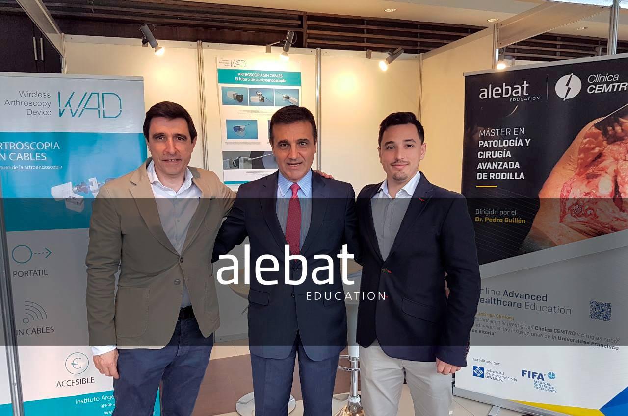 Fotografía que ilustra la noticia de salud de Alebat Education sobre Alebat Education presenta el Máster en Patología y Cirugía Avanzada de Rodilla en SLAOT