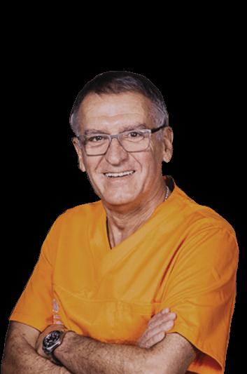Experto en odontología Cándido Hernández