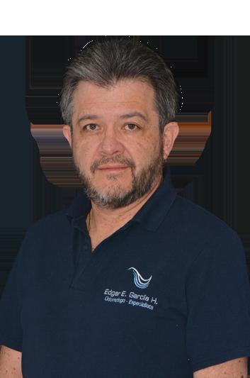 Experto en odontología Edgar Enrique García Hurtado