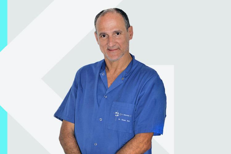 Experto en odontología Dr. ÓscarAlonso González