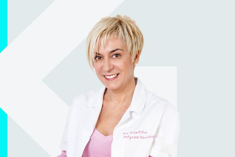 Experto en odontología RosaM. Ros