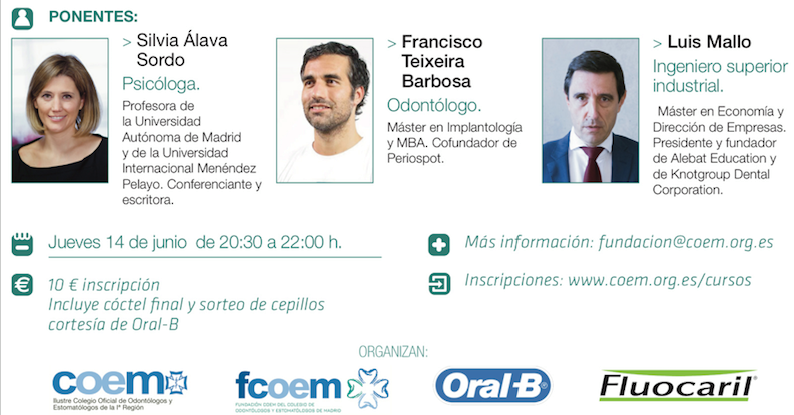 Fotografía que ilustra la noticia de odontología de Knotgroup Dental Institute sobre Luis Mallo participará como ponente para el COEM