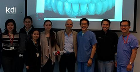 Fotografía que ilustra la noticia de odontología de Knotgroup Dental Institute sobre El Dr. Oriol Cantó visita Harvard School of Dental Medicine
