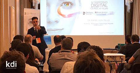 Fotografía que ilustra la noticia de odontología de Knotgroup Dental Institute sobre El Dr. Rafael Vila participa como ponente en el IV Simposio Digital CEREC e inLab