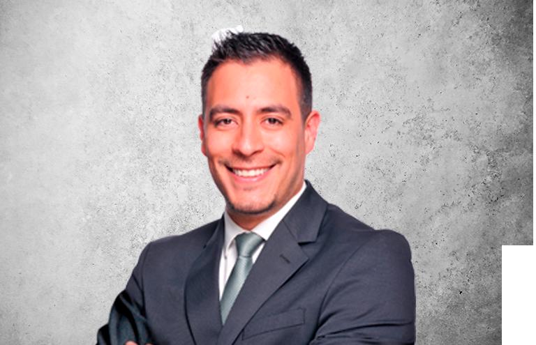 Fotografía que representa al experto Dr. Alberto Quintero Tovar de la plataforma de odontología de Inspiria