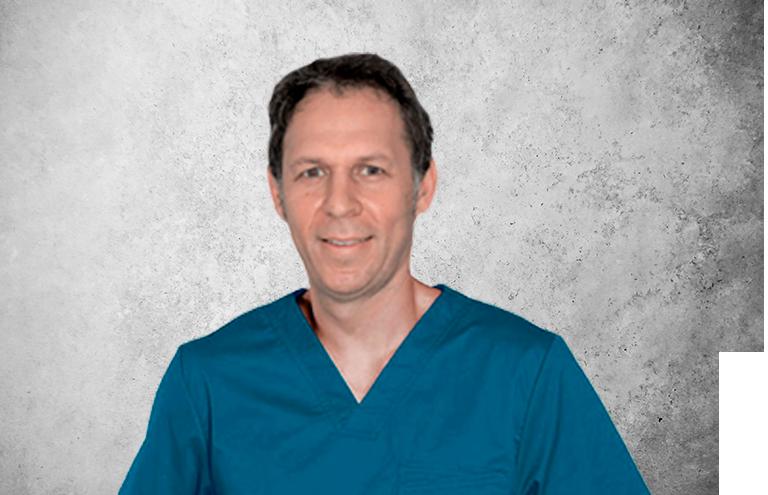 Fotografía que representa al experto Dr. Andrés Peña Aguilar de la plataforma de odontología de Inspiria