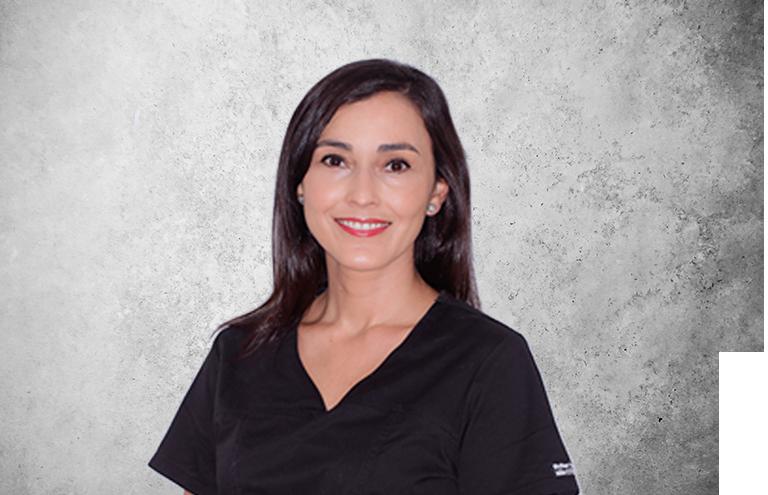 Fotografía que representa al experto Dra. Sofía Castro Jiménez de la plataforma de odontología de Inspiria