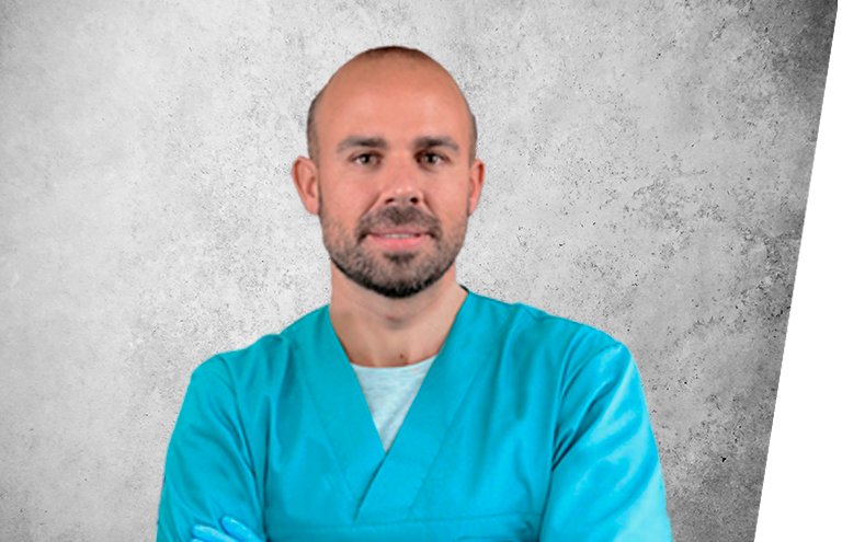 Fotografía que representa al experto Dr. Joan Tomás Bueno de la plataforma de odontología de Inspiria