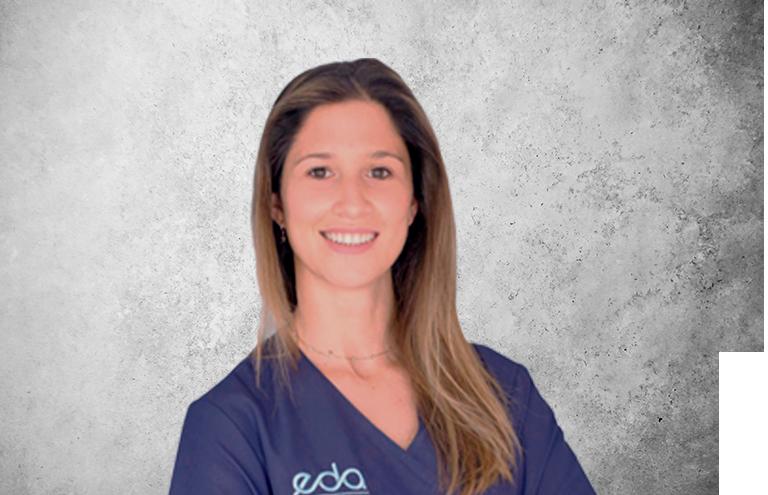 Fotografía que representa al experto Dra. Isabel González Bueso de la plataforma de odontología de Inspiria