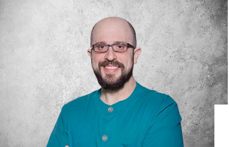 Fotografía que representa al experto Dr. Tomás Beca Campoy de la plataforma de odontología de Inspiria