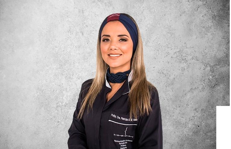Imagen del experto Dra. Patricia Guedes Maciel Vieira de la plataforma de odontología Inspiria