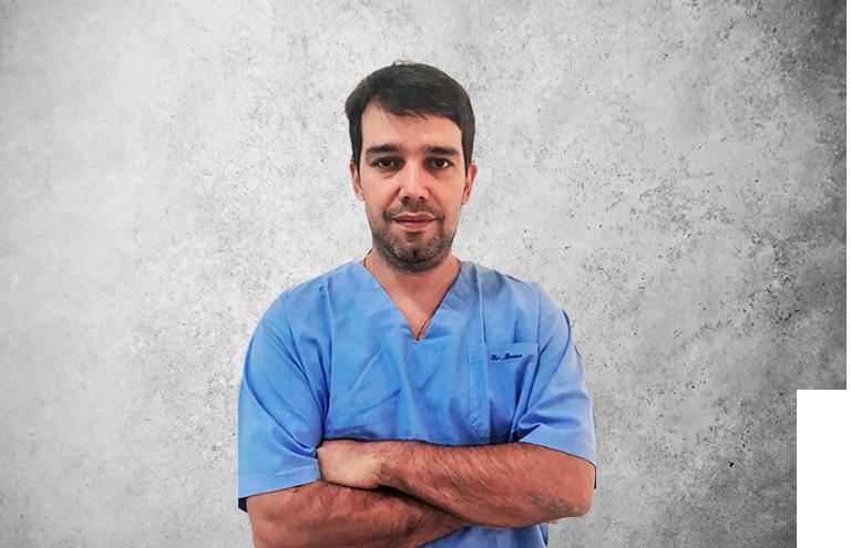 Fotografía que representa al experto Dr. Bruno Brenner Pentagna de la plataforma de odontología de Inspiria