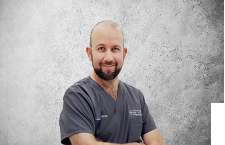 Fotografía que representa al experto Dr. Daniel Rodrigo Gómez de la plataforma de odontología de Inspiria