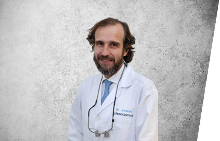 Fotografía que representa al experto Dr. Ramón Lorenzo Vignau de la plataforma de odontología de Inspiria