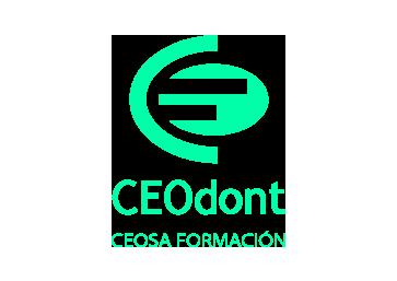 Imagen que representa el logo verde del partner ceodont de la plataforma de odontología de Inspiria