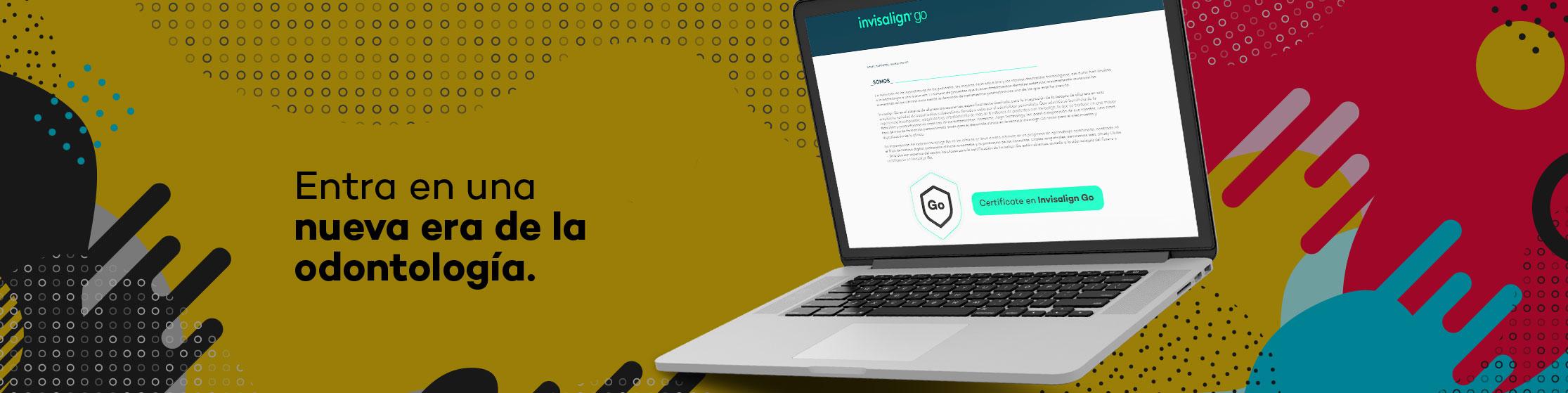 Imagen que representa al partner Invisalign Go de la plataforma de odontología de Inspiria